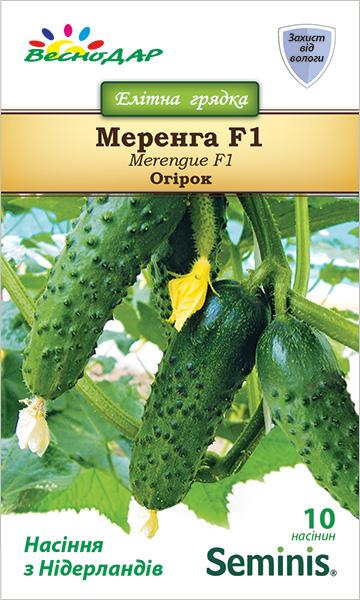 Фото-семена Огурец Меренга (Merengue) F1