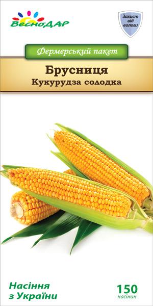 Фото-семена Кукуруза сахарная Брусница