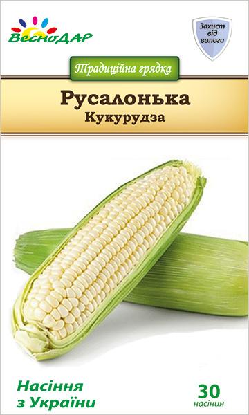 Фото-семена Кукуруза сахарная Русалонька