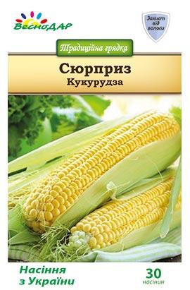 Фото-семена Кукуруза сахарная Сюрприз
