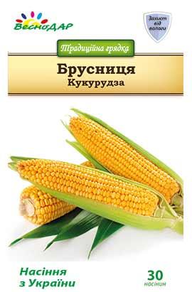 Фото-семена Кукуруза сахарная Брусниця