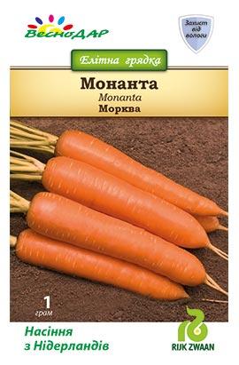 Фото-семена Морковь Монанта  (Monanta RZ)