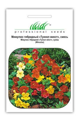 Фото-семена Мимулюс Туинкл, смесь