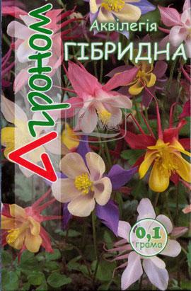 Фото-семена Аквилегия Гибридная