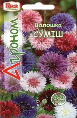 Фото-семена Василек Смесь