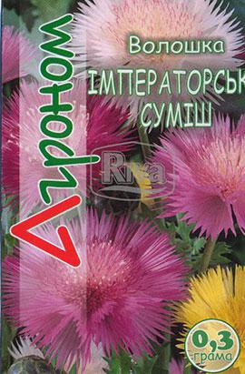 Фото-семена Василек Императ смесь