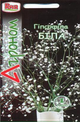 Фото-семена Гипсофила Белая