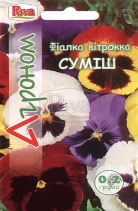 Фото-семена Виола витрокка Смесь