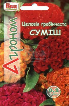 Фото-семена Целозия гребенчатая Смесь