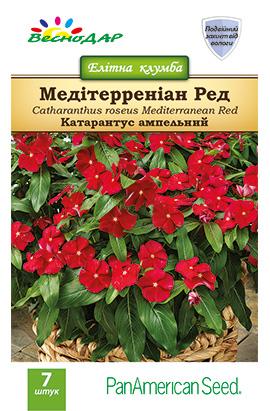 Фото-семена Катарантус ампельный Mediterranean Red