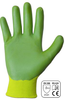 Фото-  Перчатки защитные NITROX MINT нитрил, размер 7