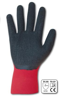 Фото-  Перчатки защитные PERFECT GRIP RED латекс, размер 9