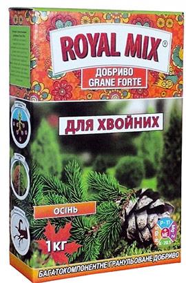 Фото- Удобрение Grane Forte Classic для хвойных: осень