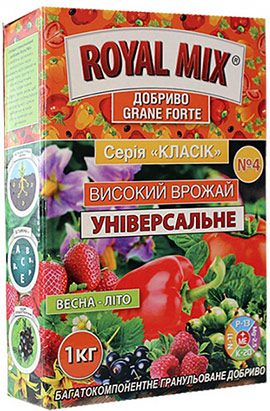 Фото- Удобрение Grane Forte Classic: высокий урожай