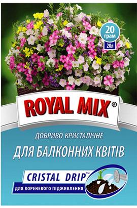 Фото- Удобрение CRISTAL DRIP для балконных цветов (корневое)