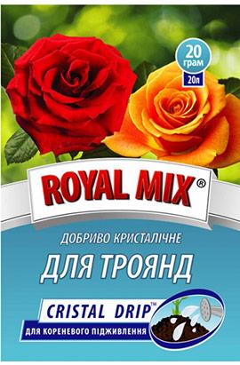 Фото- Удобрение CRISTAL DRIP для роз (корневое)