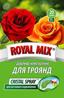 Фото- Удобрение CRISTAL SPRAY для роз (листовое)