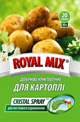 Фото- Удобрение CRISTAL SPRAY для картофеля (листовое)