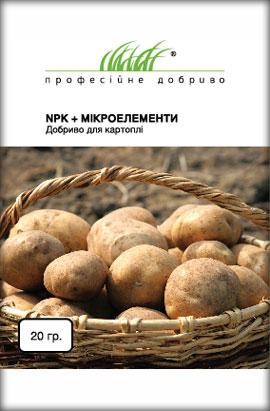 Фото-удобрения   NPK+Микроелементи, для картофеля