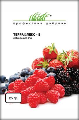 Фото-удобрения  Террафлекс - S, для ягод