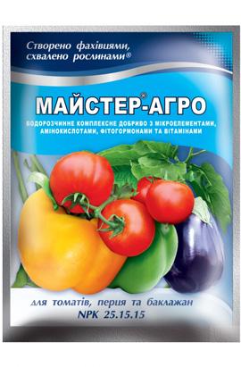 Фото-удобрения  Ф-Майстер-Агро  для томатов