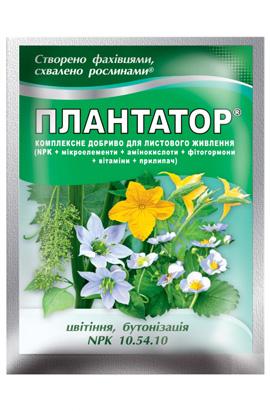 Фото-удобрения  Ф-Плантатор 10-54-10 (цветение, бутонизация)