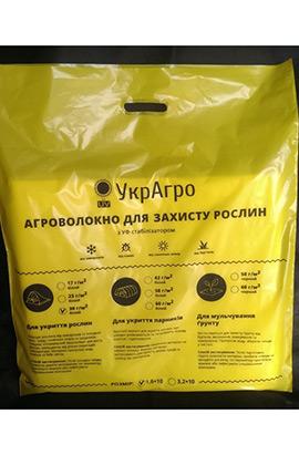 Фото- Агроволокно УкрАгро 17-1600 біле