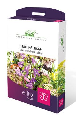 Фото-Цветочная смесь  Зеленый доктор Elite (на 50 м²)